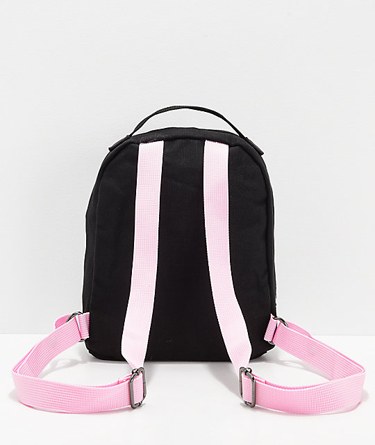 Santa Cruz Dot Pink & Black Mini Backpack
