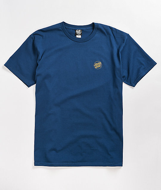 Santa Cruz Dressen Rose Ring Blue T-Shirt