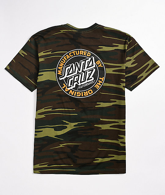 Santa Cruz Manufactured Dot Camo T-Shirt