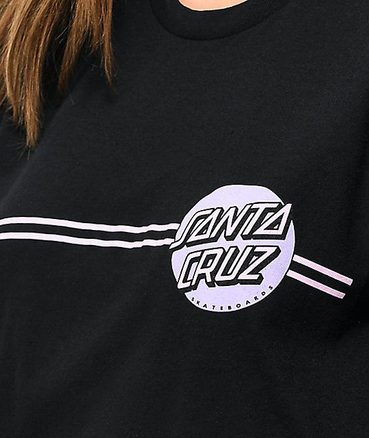 Santa Cruz Other Dot Black T-Shirt