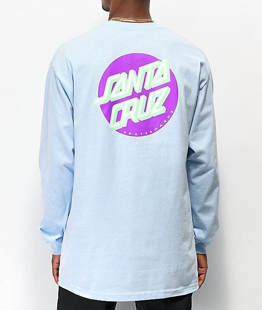 Santa Cruz Other Dot Blue Long Sleeve T Shirt by Santa Cruz Skate