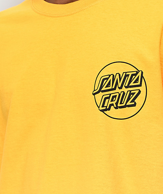 Santa Cruz Other Dot Gold T-Shirt