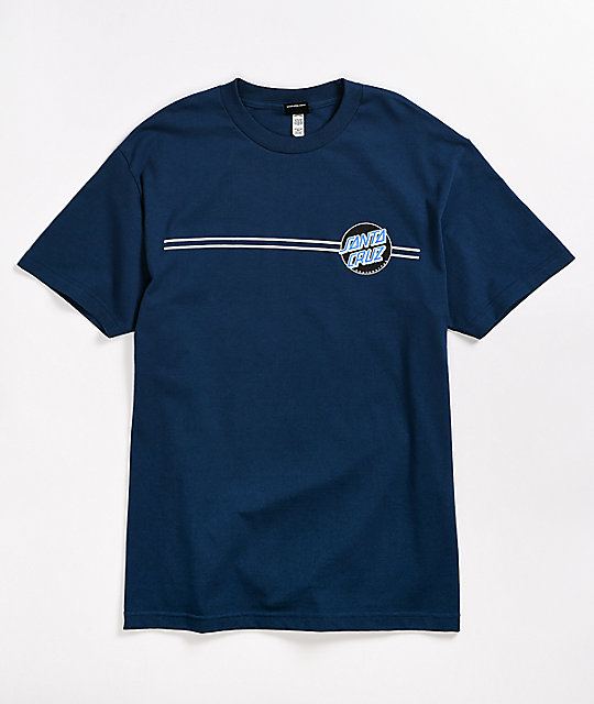 Santa Cruz Other Dot Harbor Blue T-Shirt