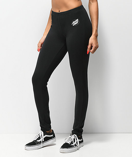 Santa Cruz Oval Dot leggings negros