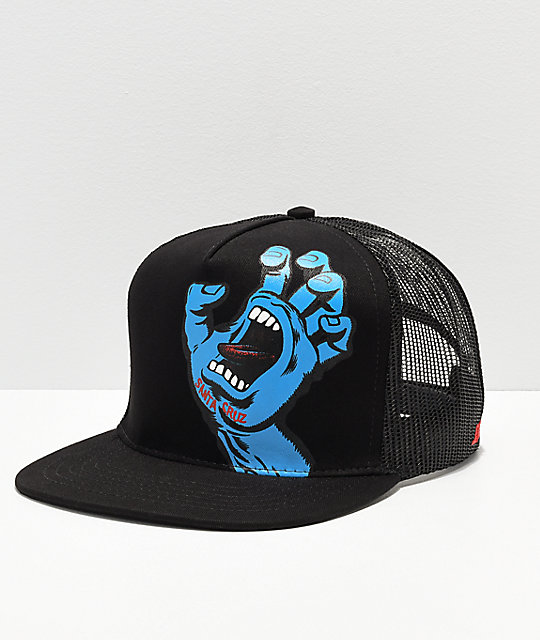 Santa Cruz Screaming Hand gorra de camionero
