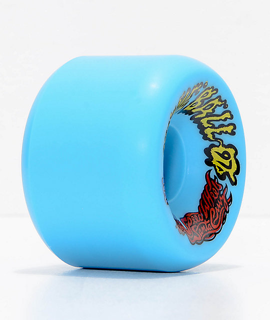 Santa Cruz Slime Balls Vomits 60mm Blue Cruiser Wheels