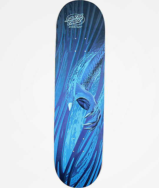 "Santa Cruz Water Beast 8.375"" Everslick Skateboard Deck"