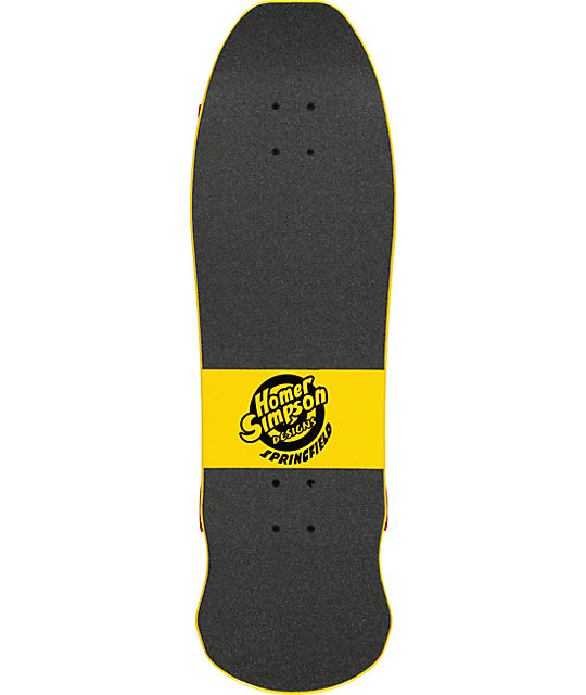 "Santa Cruz X Simpsons Homer Face 31""  Cruiser Complete Skateboard"