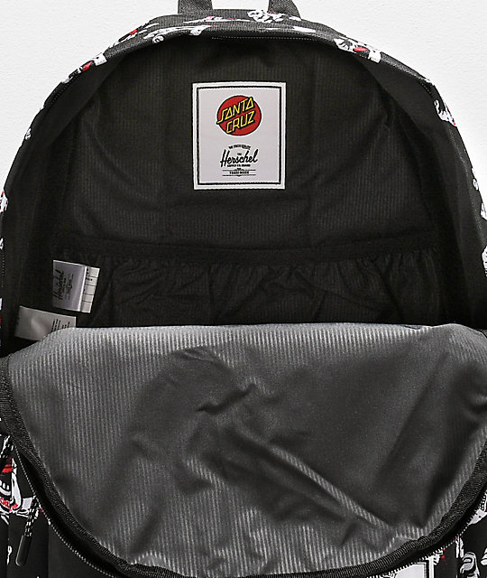Santa Cruz x Herschel Classic Screaming Hand mochila