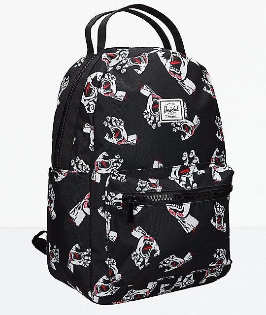 f182b618d Santa Cruz x Herschel Supply Co. Nova Screaming Hand Mini Backpack |  Zumiez.ca
