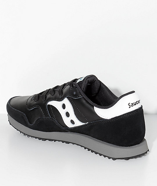... Saucony DXN Trainer Essential Black   White Shoes ... 2076266f8d16