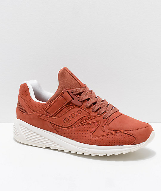 Saucony Grid 8500 HT Red Barn Shoes