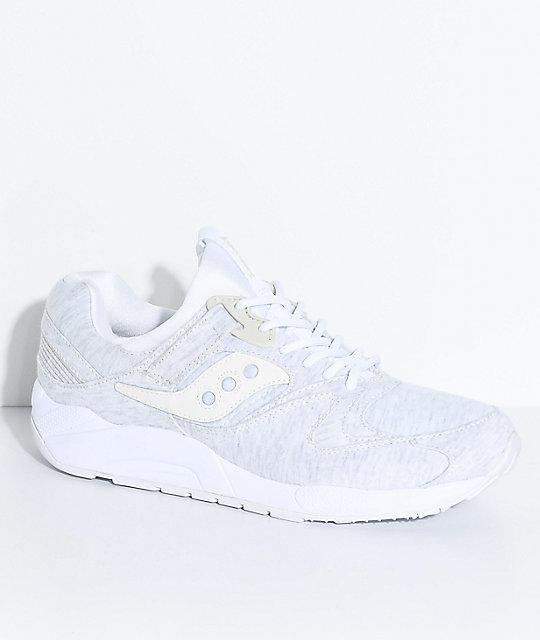 saucony grid 9000 white
