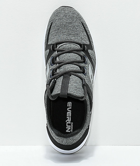 Saucony Grid 9000 Mod Grey & Black Shoes