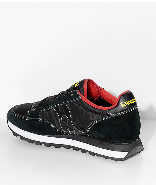 Saucony Jazz Original Black & Red Shoes