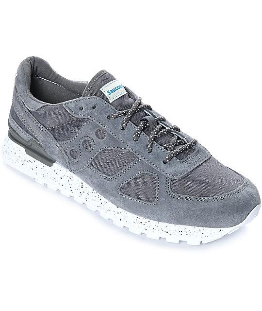 big sale 27145 10338 Saucony Shadow Original Ripstop Charcoal Shoes