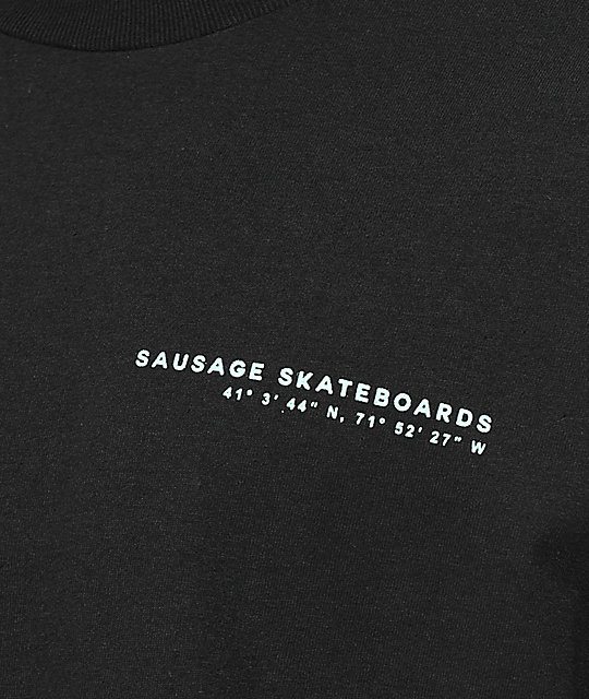 Sausage Montauk Project Black Long Sleeve T-Shirt