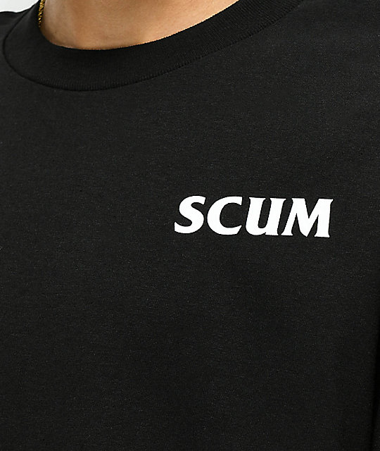 Scum International camiseta negra