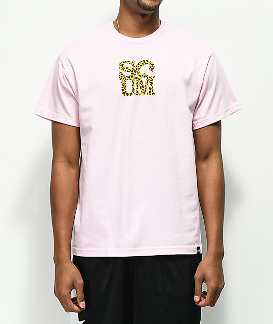 Scum Love Leopard Pink T-Shirt