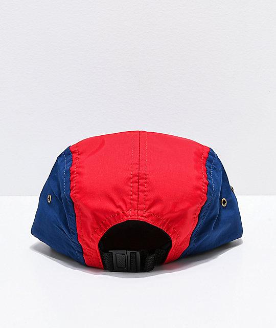 c1492ba7 Scum Sport International Navy & Red Strapback Hat   Zumiez