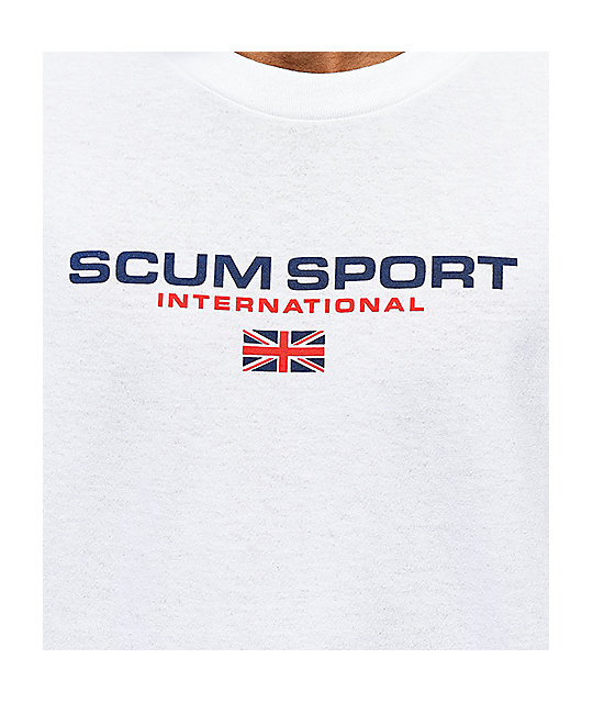 Scum Sport White T-Shirt