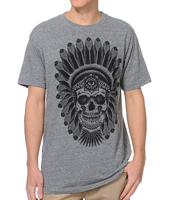 Secret Artist Chief Grey T-Shirt