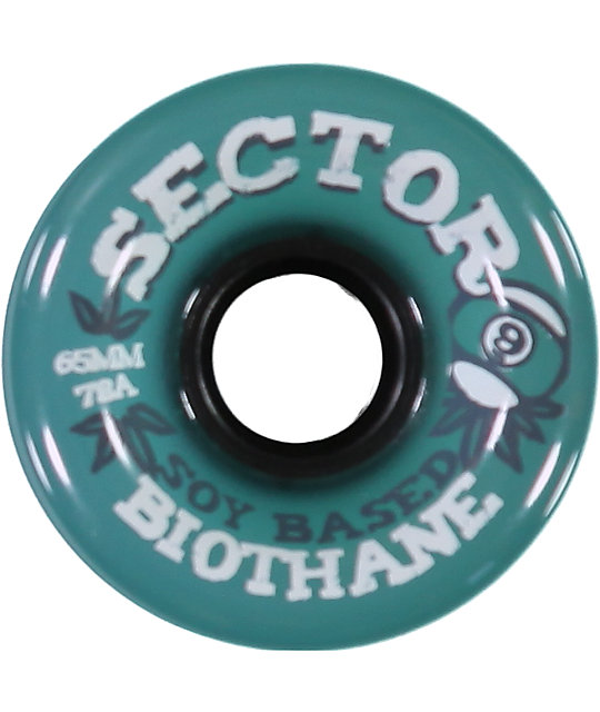 Sector 9 Biothane 65mm Longboard Wheels