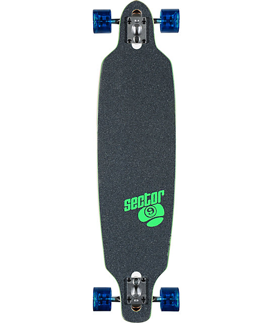 "Sector 9 Fraction 36""  Longboard Complete"