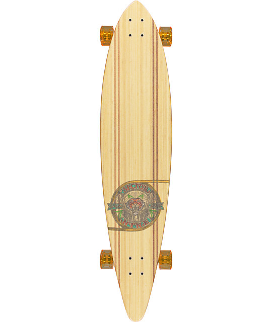 "Sector 9 G-Land 44""  Bamboo Longboard Complete"