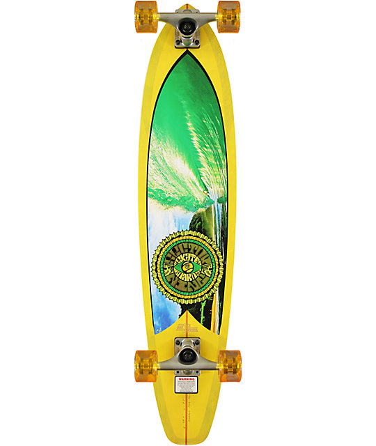 "Sector 9 Green Machine 38""  Longboard Complete"