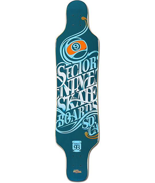 "Sector 9 Mini Shaka 40""  Longboard Deck"