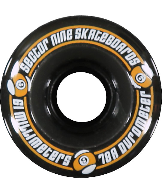 Sector 9 Nineball 61mm Assorted Longboard Wheels