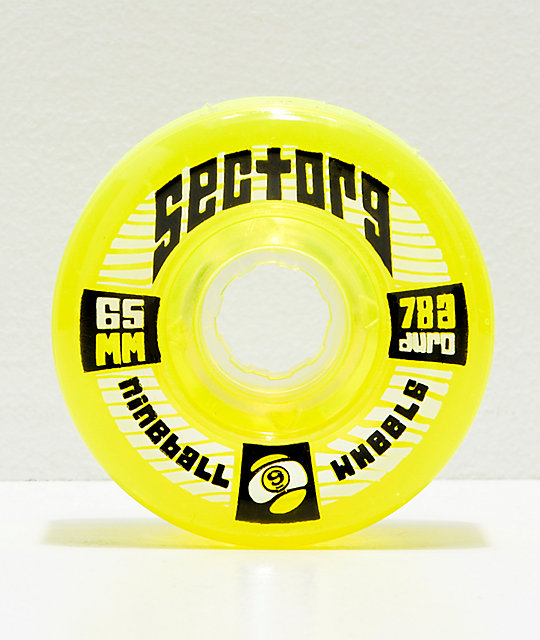 Sector 9 Nineballs 65mm 78a Lime Green Longboard Wheels