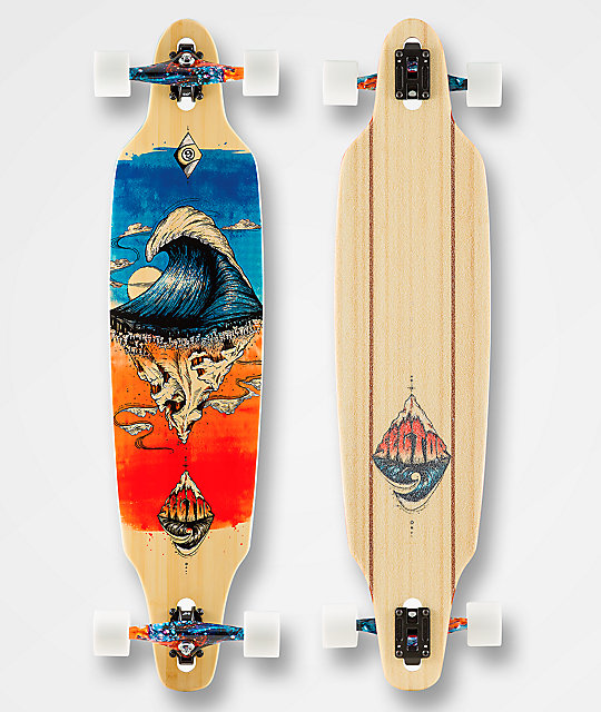 "Sector 9 Pinnacle Lookout 41"" Drop Through Longboard Complete"