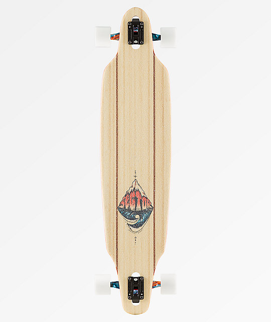 "Sector 9 Pinnacle Lookout 41"" Drop Through longboard completo"