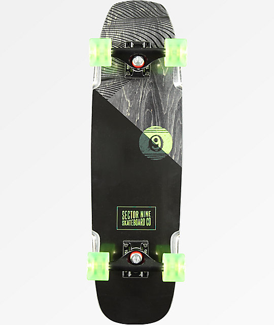 "Sector 9 Sand Shark 28.5"" Cruiser Complete Skateboard"
