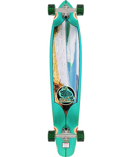 "Sector 9 Super Tubes 43.5""  Longboard Complete"