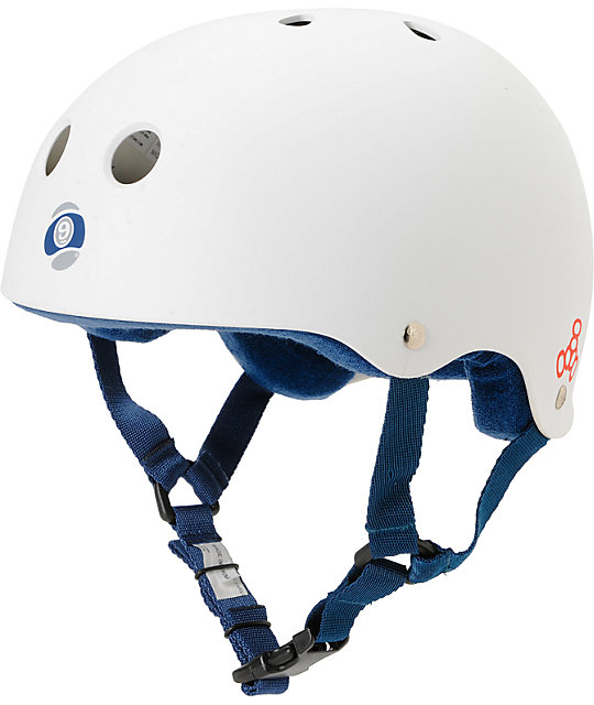 Sector 9 Swift White Skateboard Helmet