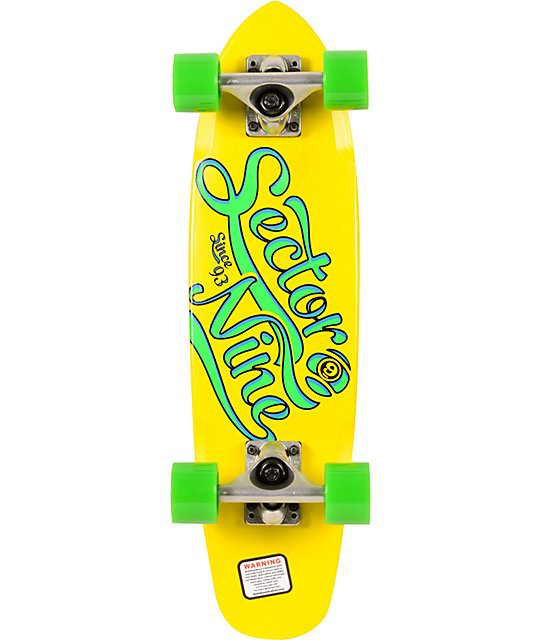 "Sector 9 The Steady 25""  Cruiser Complete"