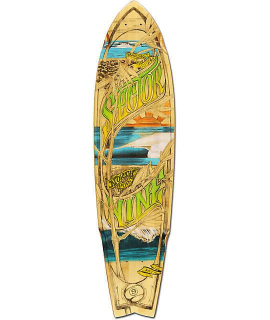 "Sector 9 West Oz 34""  Bamboo Longboard Deck"