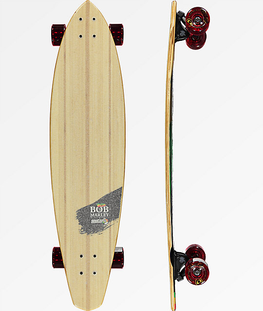"Sector 9 x Bob Marley Exodus 39"" Pintail Longboard Complete"