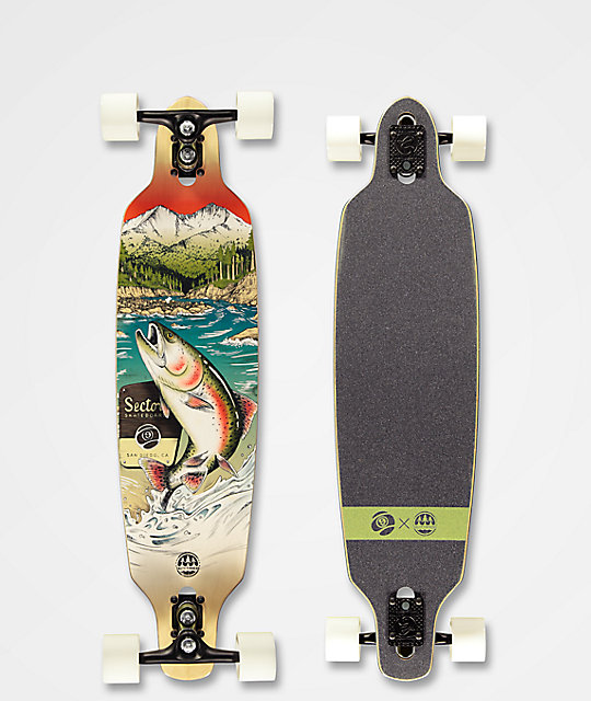 Sector 9 x Salty Timbers Tackle Fractal 36