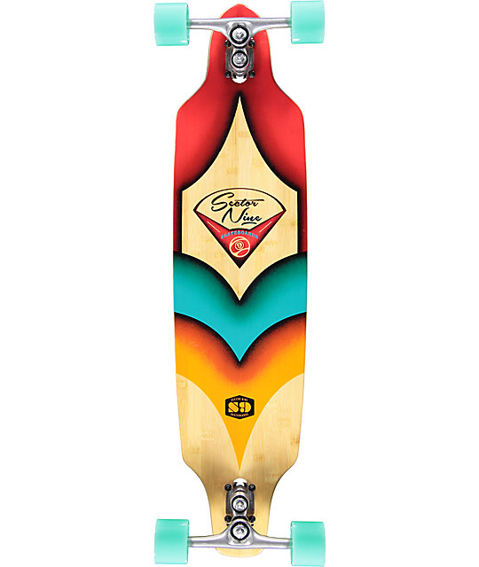 "Sector Sentinel II 37.5""  Drop Through Longboard Complete"