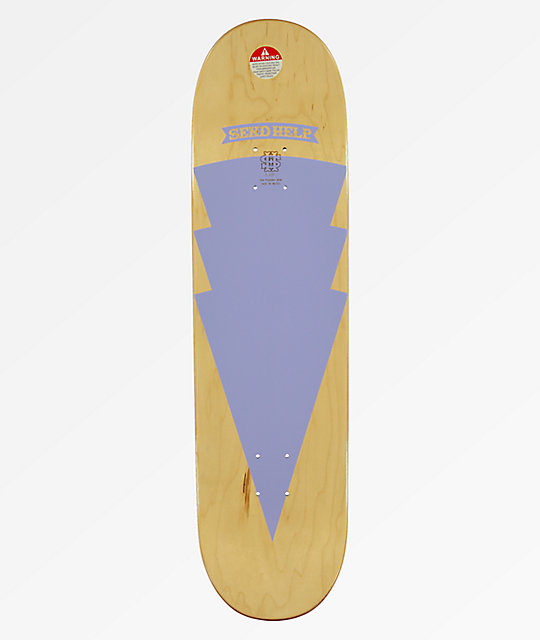 "Send Help Modica Alter 8.625"" Purple Skateboard Deck"