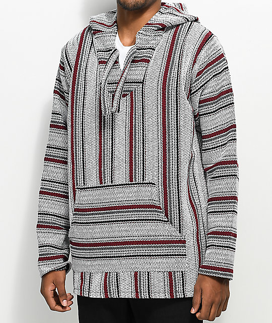 Senor Lopez Quintero 2 Viking Red Poncho