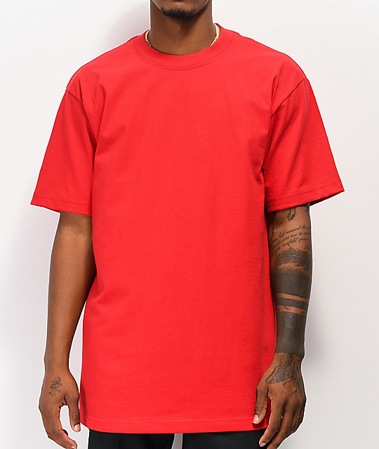 Shaka Wear Max Heavy Weight camiseta roja