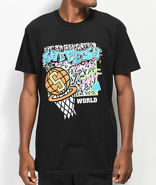 Sheesh World 90's Baller camiseta negra
