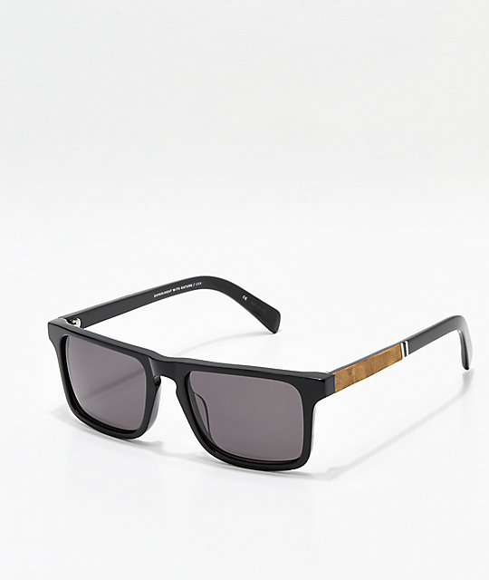 0dc0cbb5dccb Shwood Govy 2 Black Maple Burl Sunglasses