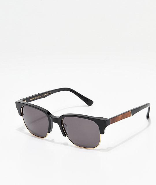 d6b1d42f091 Shwood Newport Black   Mahogany Sunglasses