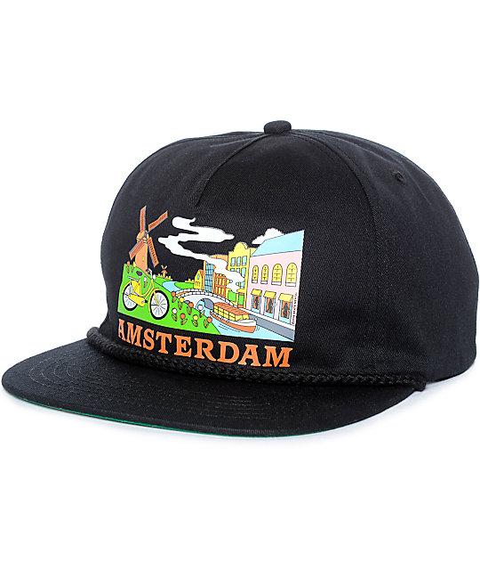 Skate Mental Amsterdam Tourist Snapback Hat  ad45b69eef8